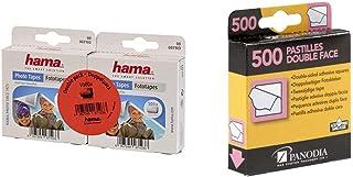 Hama - 7103 - Distributeur Pastilles Photo & Panodia 270891 Boîte de 500 Pastilles Adhésives Double Face