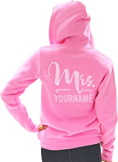 personalized last name hoodies