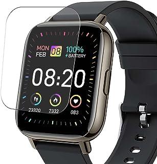 Vaxson 3-pack skärmskydd, kompatibel med Donerton P32 1,7 tum smartwatch smartwatch, TPU skyddsfilm skydd klistermärke [IN...