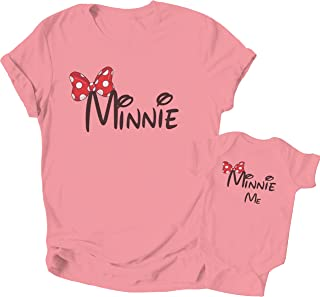 Mothers Day Mama Shirts for Women - Mother Baby Girl Matching Outfits Unisex Newborn Baby Boy Bodysuit