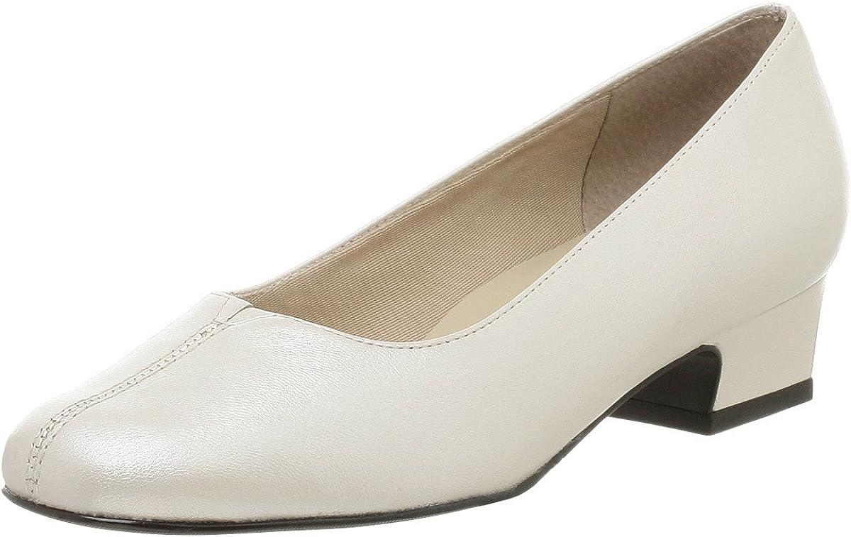 Trotters Women's Doris Pump,White Pearl,7.5 N