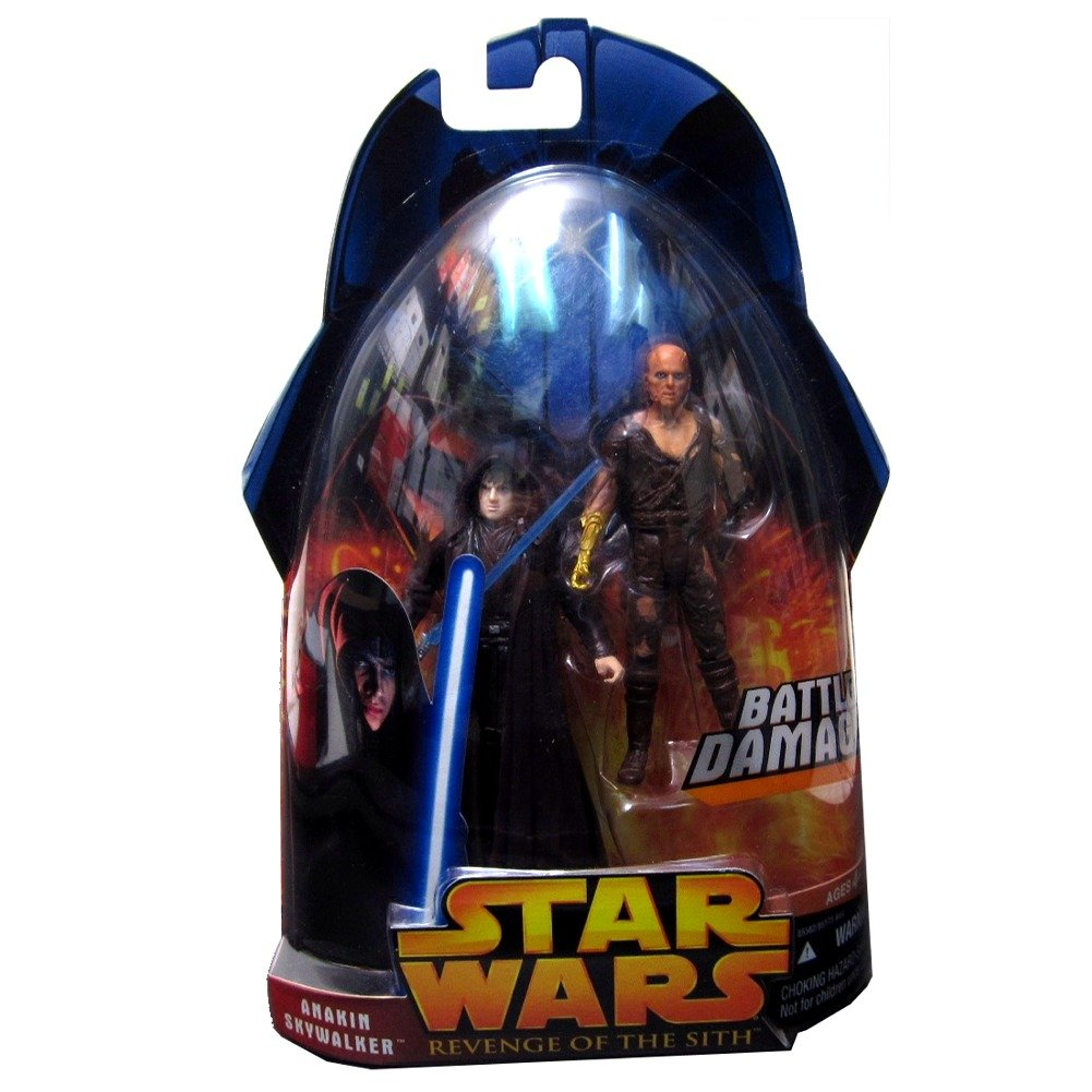Star Wars Revenge Of The Sith Anakin Skywalker Battle Damage Action Figures Collection 1 Limited Edition Amazon Co Uk Toys Games