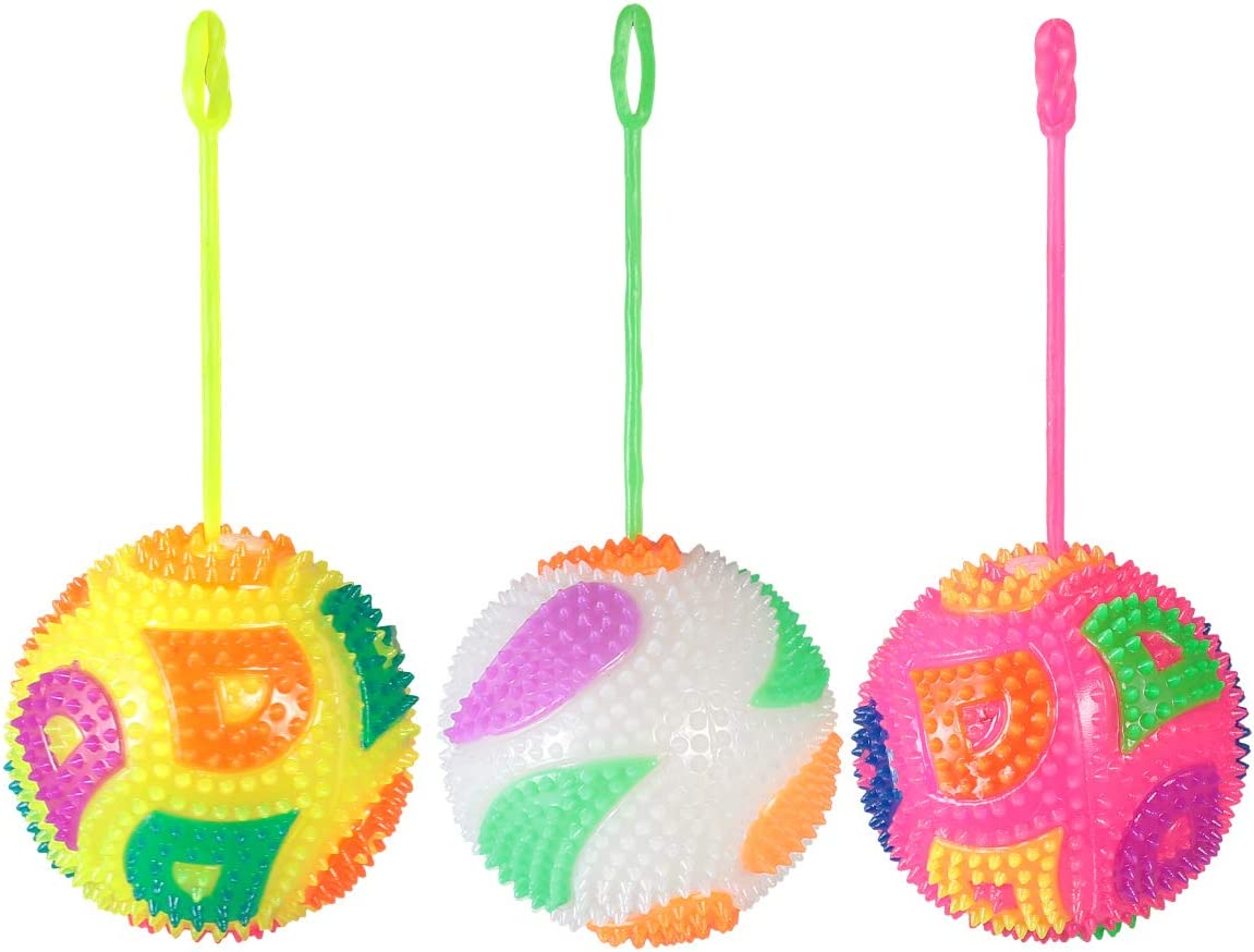 Flash Sounding Balls Ranking TOP6 Heart Soft List price Toys for Ball Kids Outdoor