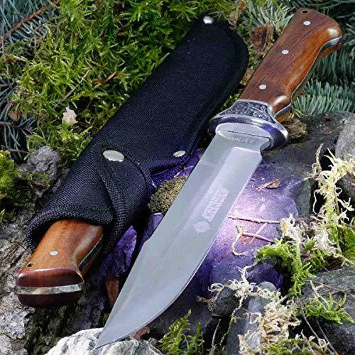 KanDar A-3143 • FESTSTEHENDE Messer JAGDMESSER • Gesamtlänge: 324mm • FTM-de.