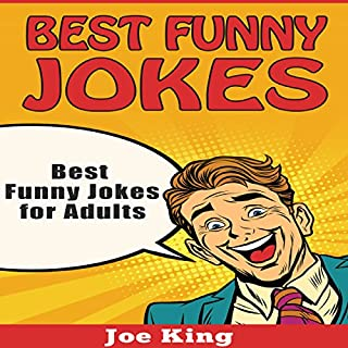 Best Funny Jokes for Adults audiobook cover art