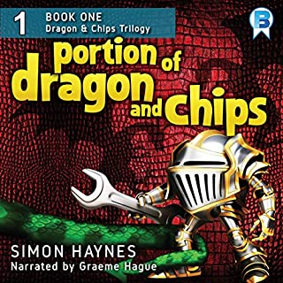 A Portion of Dragon and Chips audiobook cover art
