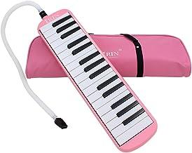 ammoon 32 Teclas de Piano Melódica Instrumento Musical para Amantes de la Música Los Principiantes Regalo con Bolsa de Transporte