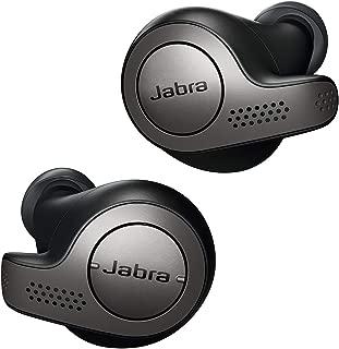 Jabra Elite 65t Alexa Enabled True Wireless Earbuds Charging Case - Titanium Black (Renewed)