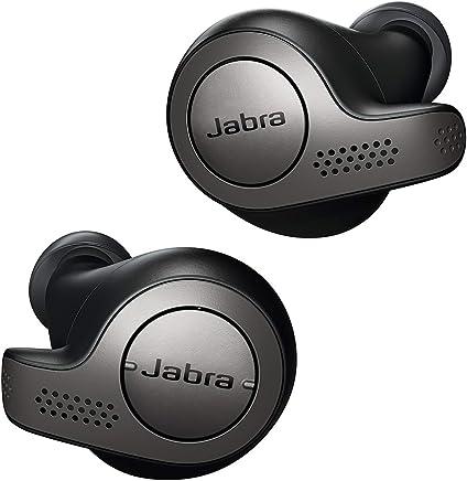Jabra Elite Active 65t Alexa Enabled - Auriculares deportivos inalámbricos con funda de carga, Elite 65t