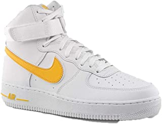 NIKE AIR Force 1 HIGH Womens Basketball Shoes 334031 105_8.5 WhiteWhite White