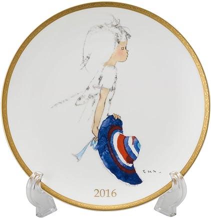 NARUMI(Narumi)ishi Hirow 2016年耳塞板(带蓝色帽子的少女)21cm 51914-21325 日本制造