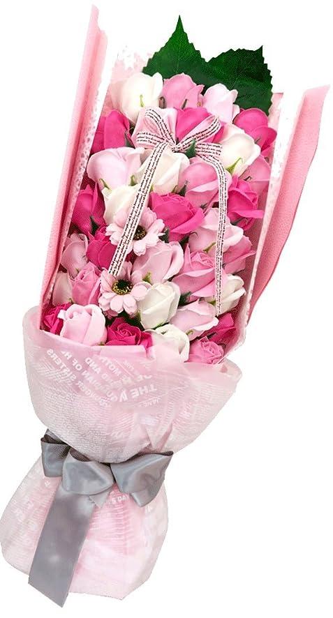 アーサーコナンドイル戸棚焦がすやさしく香る バスフレグランスブーケ 誕生日 歓送迎 結婚式 記念日に (ピンク)