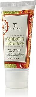 Thymes - Mandarin Coriander Hard-Working Hand Cream - 2.5 Ounces