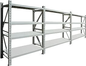2m x 4.5m x 0.5m 2400kg Long Span Garage Shelving Longspan Racking