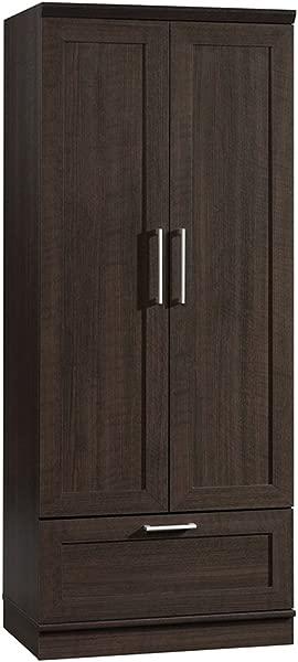 Sauder 411312 Homeplus Wardrobe L 28 98 X W 20 95 X H 71 18 Dakota Oak Finish