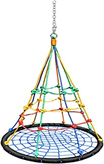 Children's Swing Color Bird's Nest Swing Indoor Outdoor Swing Swing Kindergarten Early Learning Center Toys