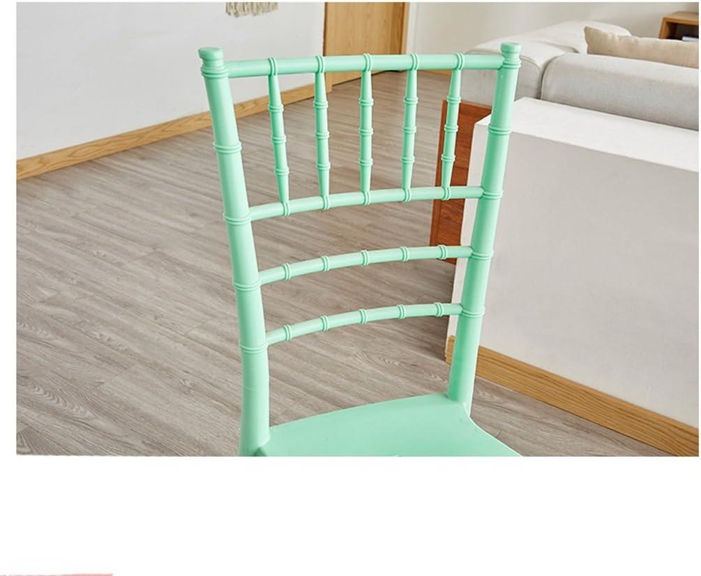 SLL- Table de négociation Minimaliste Moderne créative et chaises Moderne (Color : A) E