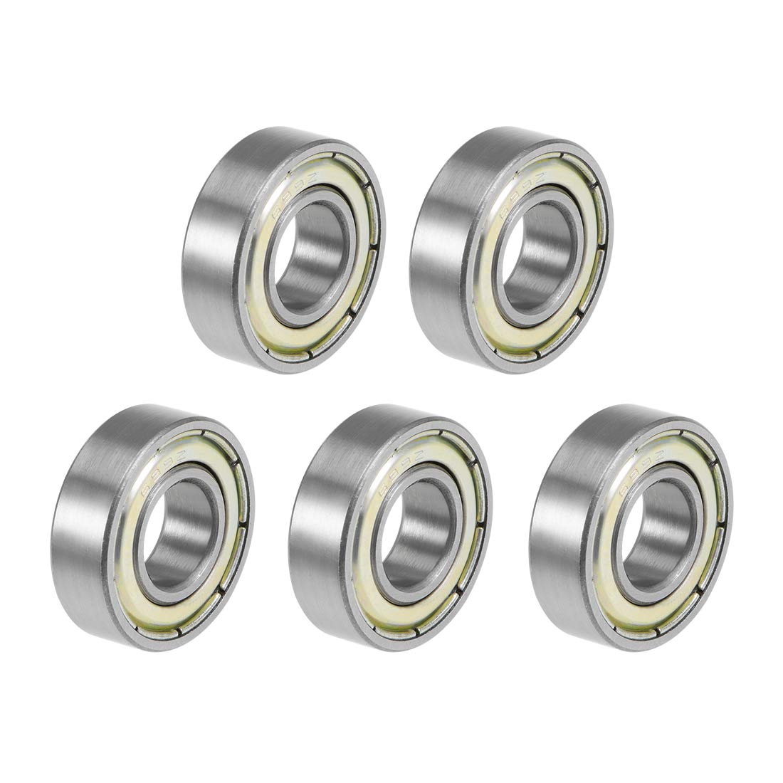 uxcell 699ZZ Deep Groove Ball Bearings X Max 48% OFF Luxury Doubl 9mm 6mm 20mm Z2