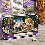 briskay Kit De Maison De Poupée Bricolage Maison Miniature avec des Meubles Assemblés Jouets Boîte De Théâtre pour Enfants Cadeau d'anniversaire De Noël