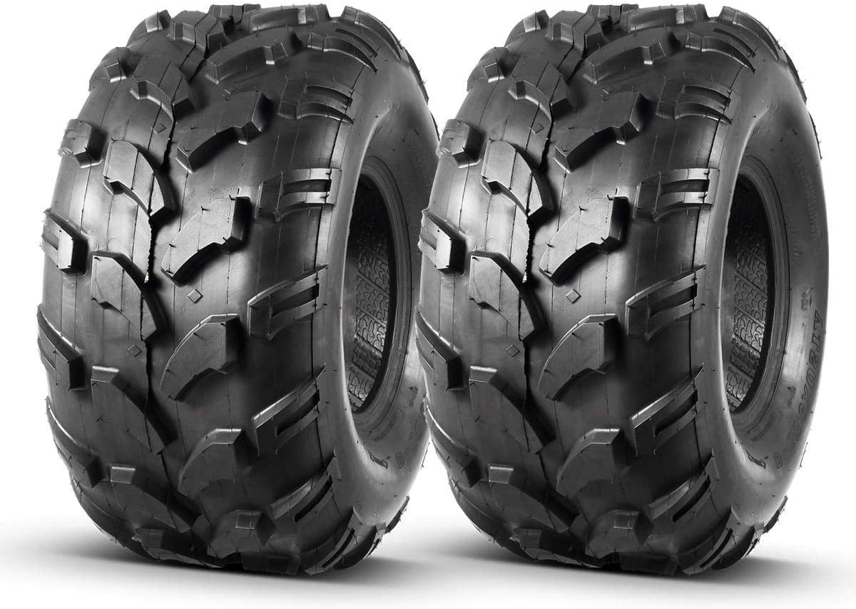 Set of 2 MaxAuto All items free shipping Ranking TOP4 ATV Tires 20X9.50-8 Turf 20X9.5X8 Riding Mower