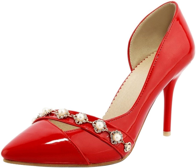 FizaiZifai Women Fashion D'Orsay Stiletto Pumps