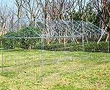 Zoom IMG-1 eugad recinto per conigli esterno