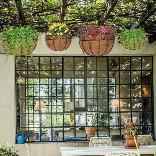 Kelly Sophia 4 Pcs 12 High order Don't miss the campaign Inch Outdoor Hanging Indoor Metal Planter