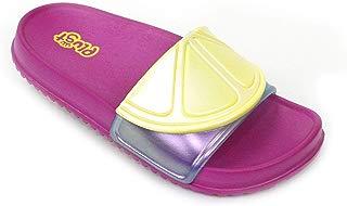 Chinelo Plugt Slide Limão Pink
