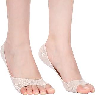 6 Pairs Women Slingback Socks Half Liner Socks Low-cut No Show Padded Socks