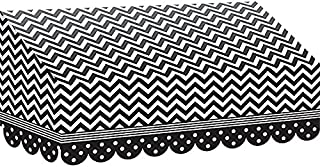 Teacher Created Resources Black and White Chevrons and Dots Awning (77164)