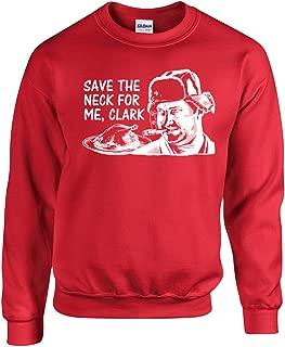 Save The Neck for me, Clark Unisex Crew Sweatshirt