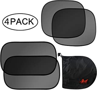 WinPower Car Window Sunshade Universal Heat Resistant, Glare, Sun Protection Side Window Shade Cover, 20x12 inch and 17x14...