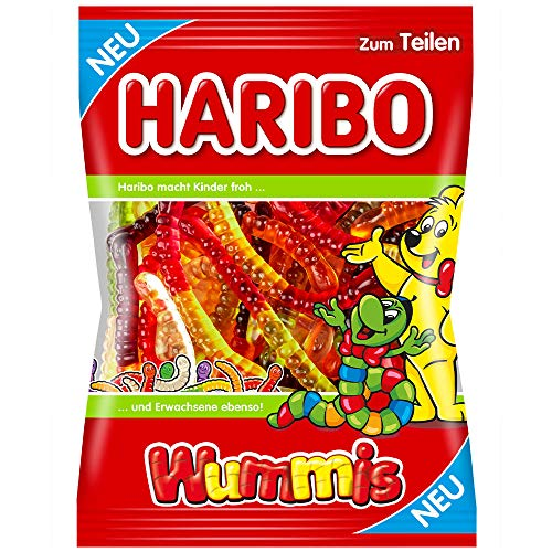 Haribo Wummis 1x 175g Fruchtgummi Würmer