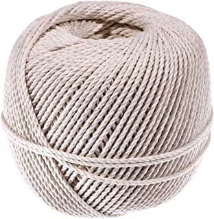 Macramé Cord (#48) - West Coast Paracord - 100% All Natural Cotton Twine - Cotton Cord and Macramé Supplies - for Gardening, Cooking, Tie-Downs, Crafting, Camping, Bundles (2.5mm x 300 Feet)