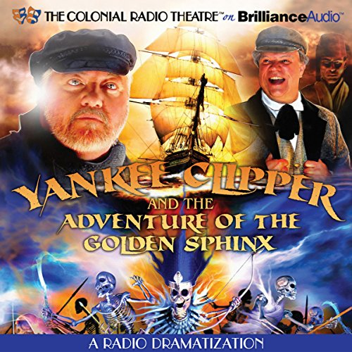 Yankee Clipper and the Adventure of the Golden Sphinx audiobook cover art