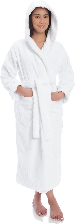 Gemsli Womens Luxurious Hooded Terry Robe