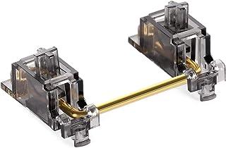 DUROCK V2 PCB Mount Screw-in Stabilizers Translucent Smokey Gold Plated 2u 6.25u 7u Keycap Stabilizers Mechanical Keyboard...