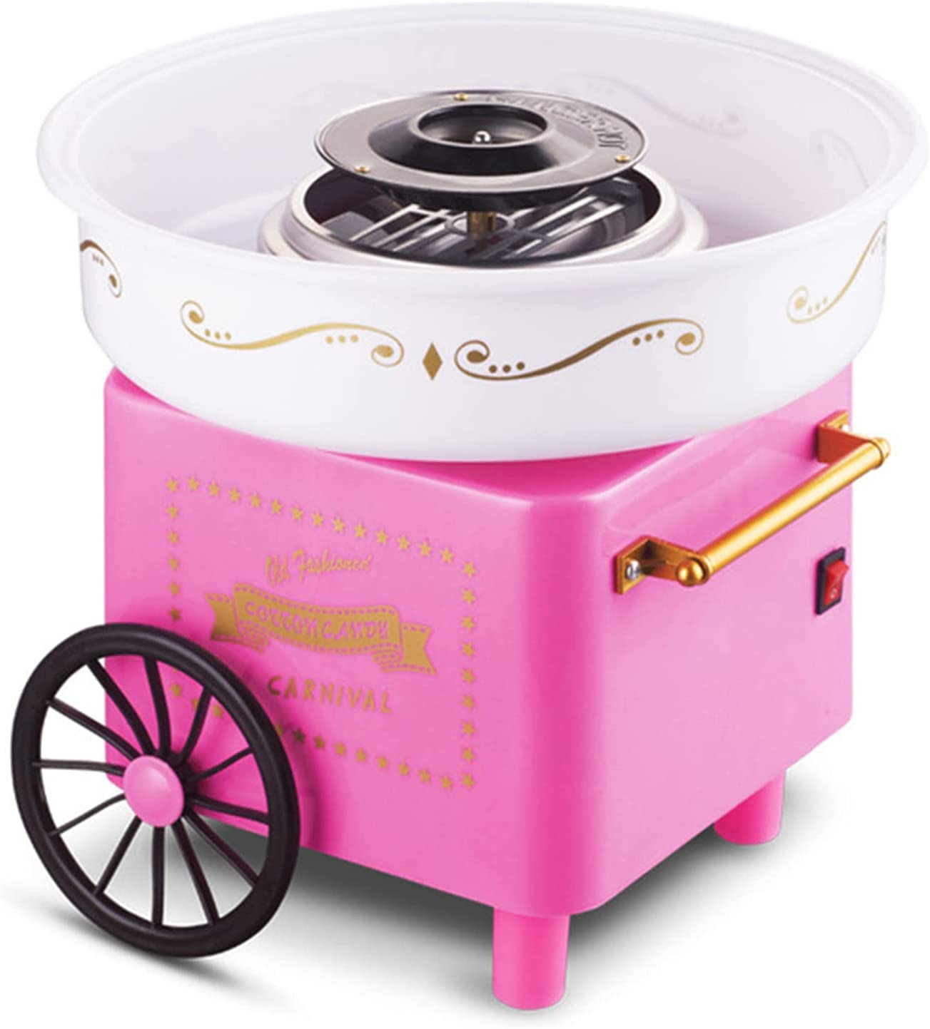WLL-DP Mini 40% OFF Cheap Sale Cotton Candy Floss Portable Electric Machine Milwaukee Mall
