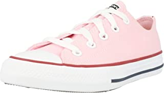 Converse Chuck Taylor All Star Ox Rose/Rouge (Cherry Blossom/Garnet) Toile Ado Formateurs Chaussures