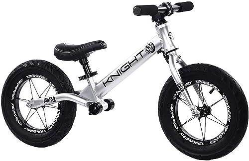 TKTTBD Vélo sans Pédale, Draisienne pour Enfants,sans pédales Vélo Marche avec Guidon réglable et siège, idéal pour Les Enfants de 2 Ans et Plus