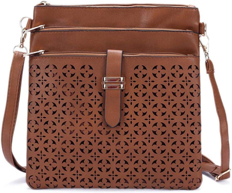 GSYDXKB Handbags Fashion Design Hollow Shoulder Bags Messenger Bag Body Cross Women Clutch Purse Women's Handbags