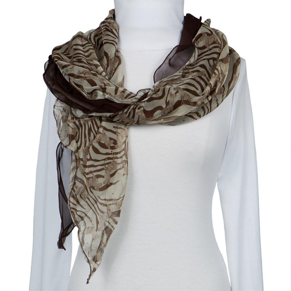 Zebra & Stripes All-Over Women's Scarf