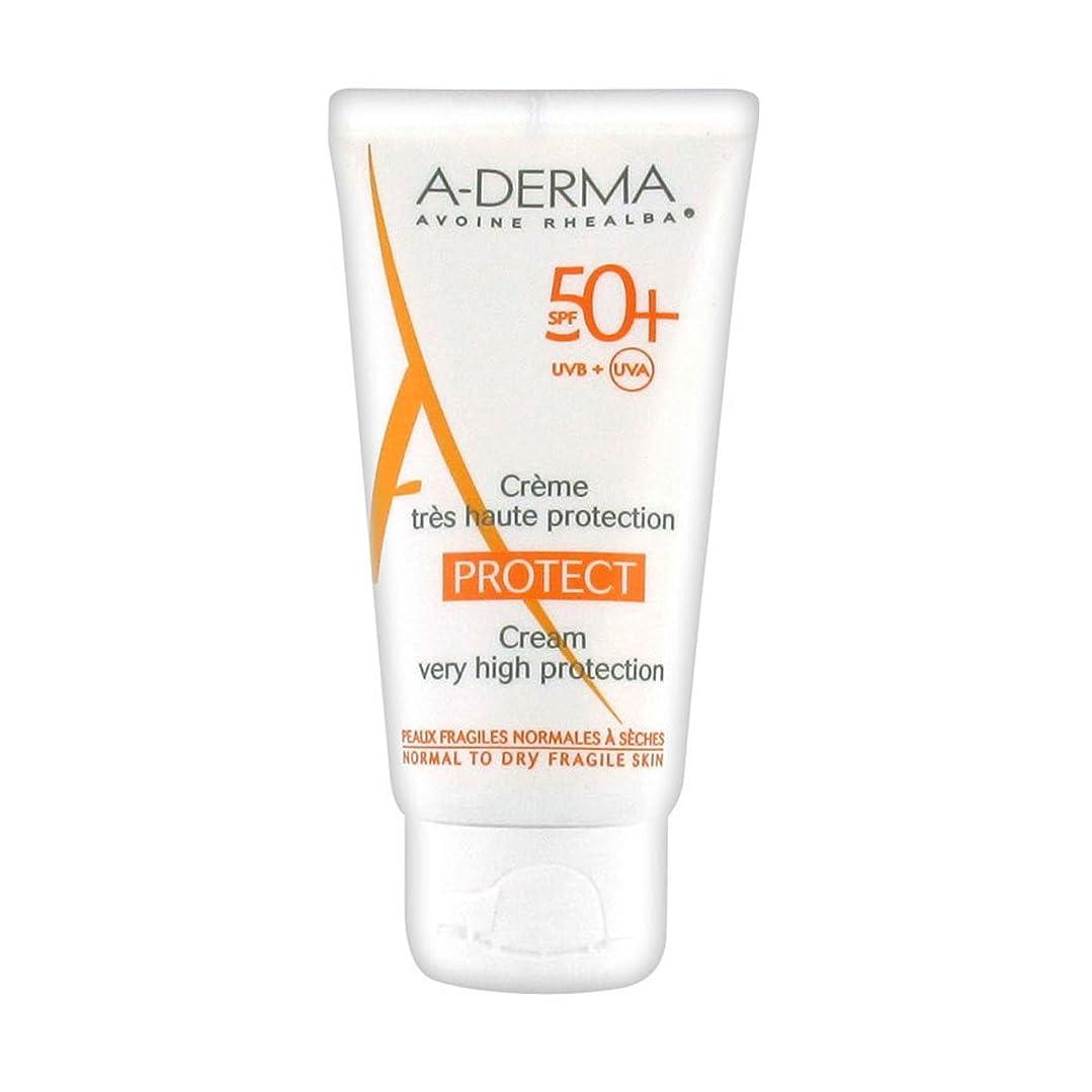 を除くトラクター休日にA-derma Protect Cream Sfp50+ 40ml [並行輸入品]