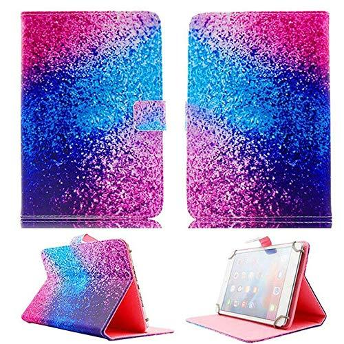 ghn Funda de piel impresa universal para tablet Samsung Galaxy Tab A de 10,1 pulgadas SM-T510 T515 2019 funda con función atril (color: arena colorida)