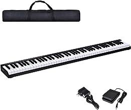 Costzon 88-Key Portable Electronic Piano, with a Handbag, 88