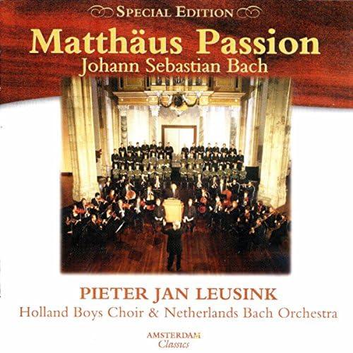 Pieter Jan Leusink, Holland Boys Choir & Netherlands Bach Orchestra