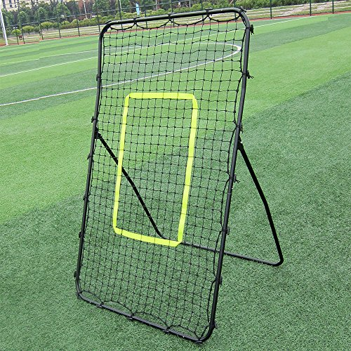 DEPFALL Soccer Goal Folding Rebounder Professional Lacrosse Trainer Net