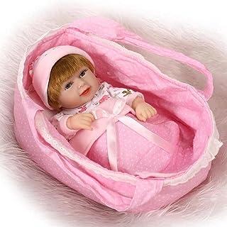 Reborn lalki, symulacja odrodzenia lalka silikonowa Mini woda może towarzyszyć dziecku osobowość zabawki dzieci kreatywny ...