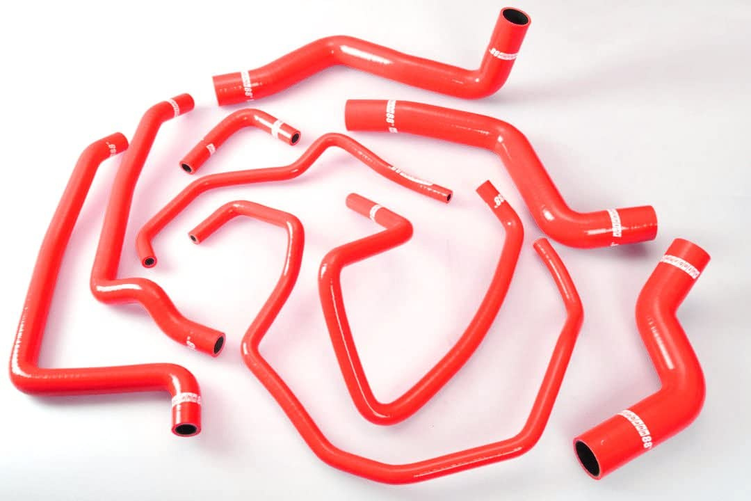 Autobahn88 Radiator Coolant Heater Ranking TOP2 Silicone Las Vegas Mall Hose Kit fits for