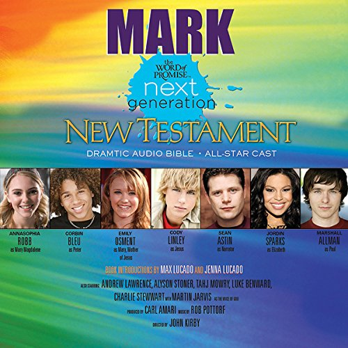 (25) Mark, The Word of Promise Next Generation Audio Bible audiobook cover art